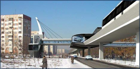 LIGHT RAIL НА УЛИЦАХ 1  (САИНА - АБАЯ)